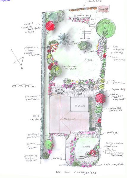 jardin à l'orée des bois